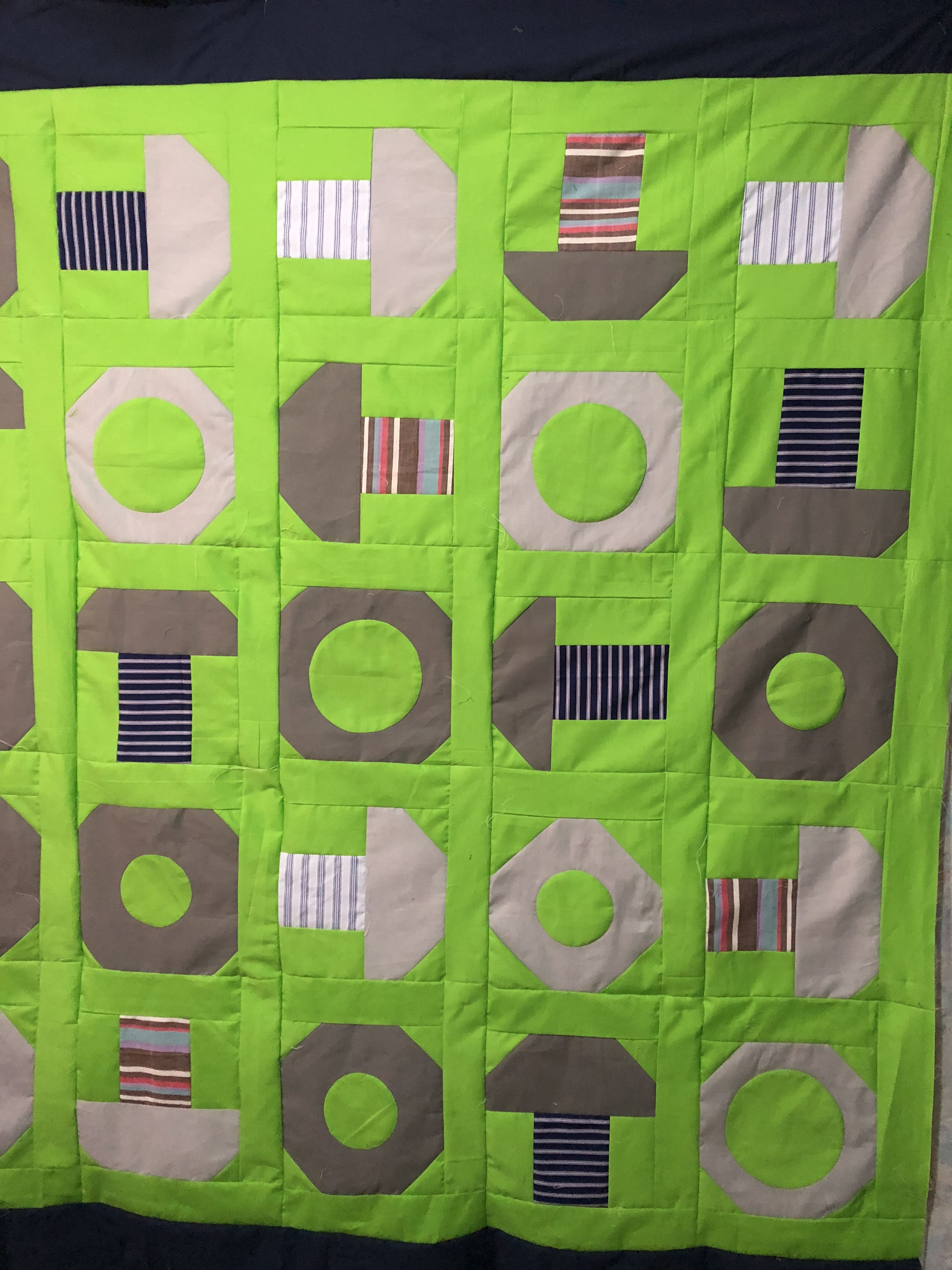 Nuts And Bolts Quilt