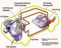 Basic Car Parts Diagram | FuelInject.jpg (433288 bytes) | Automotive ...