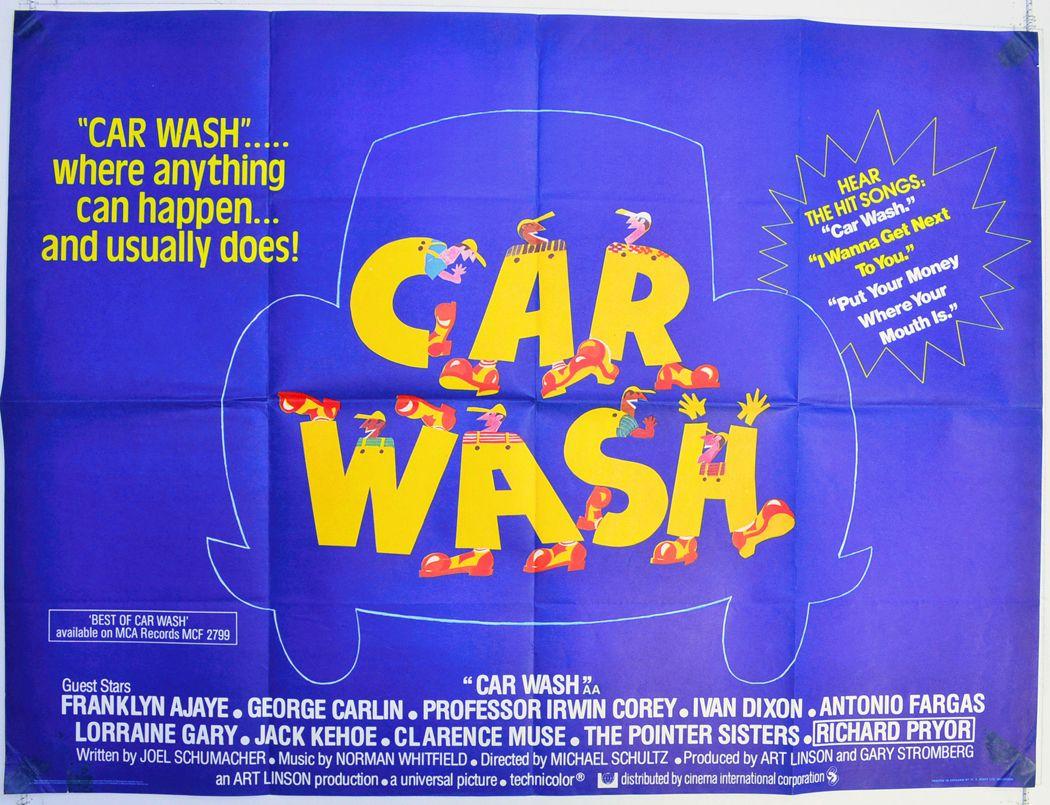 Movie poster Car Wash (1976) Car wash, Car wash
