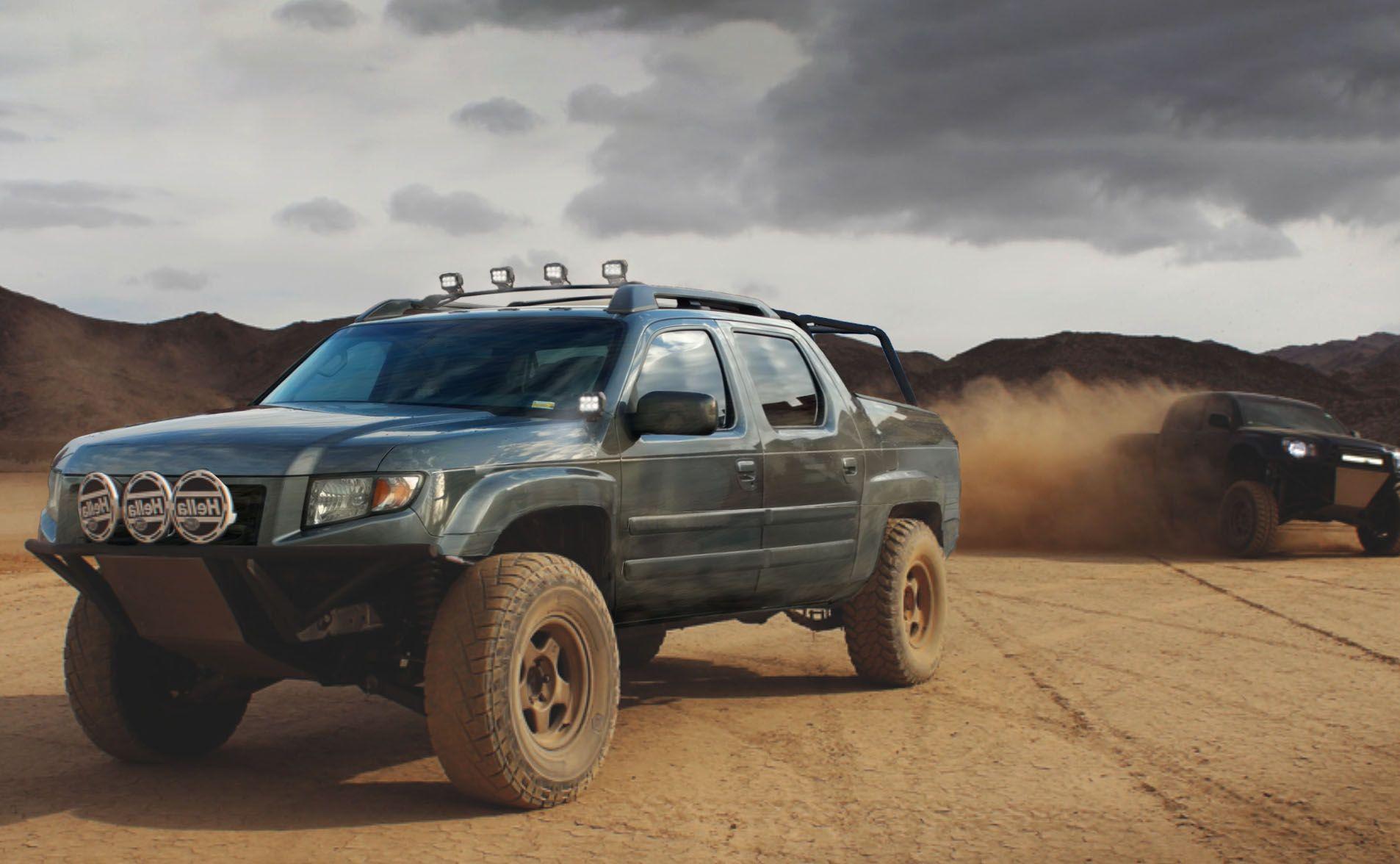 Ryan Varner Photoshop Edit Honda Ridgeline Dream Mods