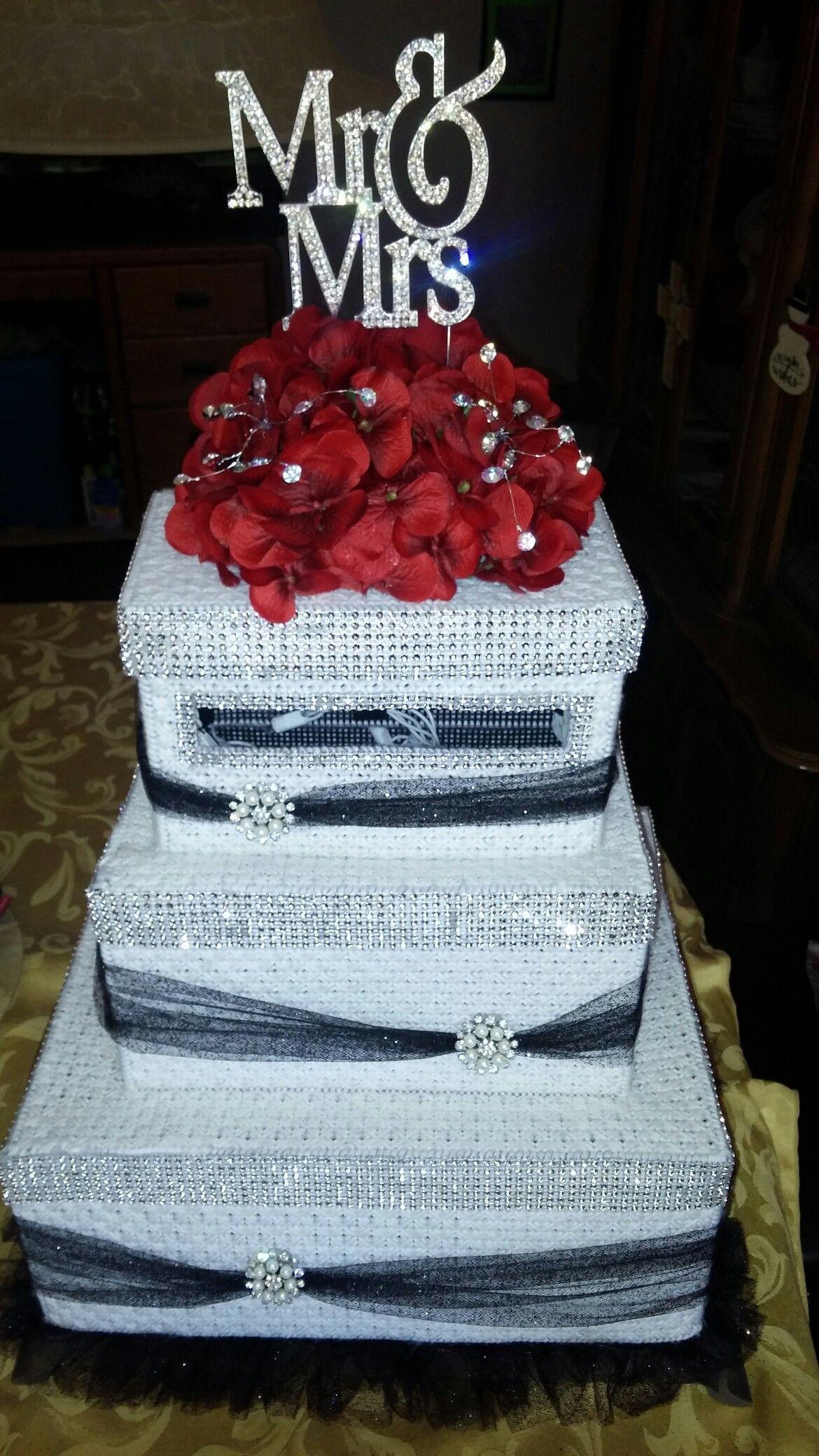 Plastic Canvas Wedding Cake Box With Lights Boxes Card: Card Box Wedding Cake Ideas At Websimilar.org
