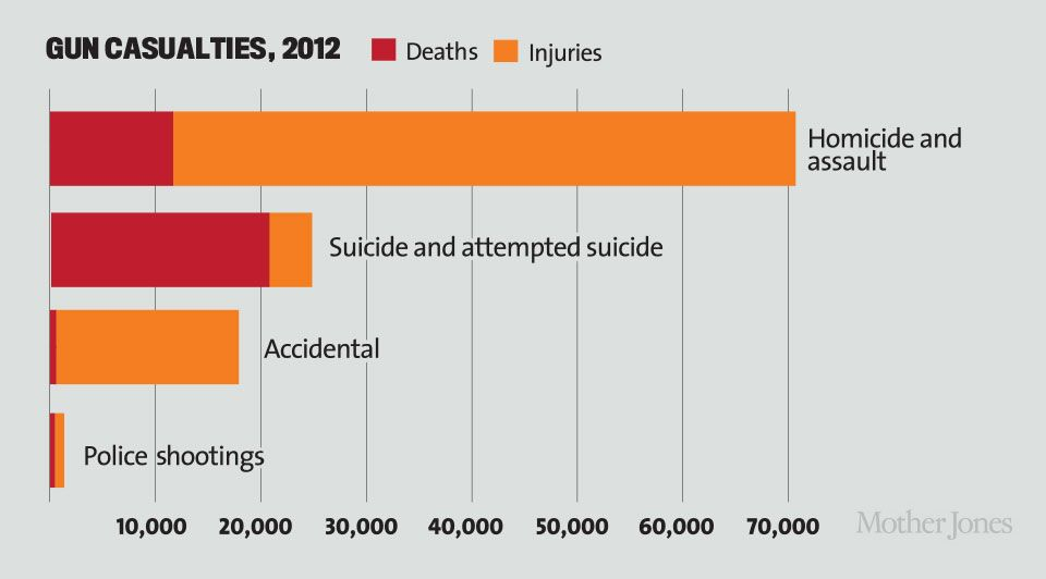 Gun Violence : The Real Costs