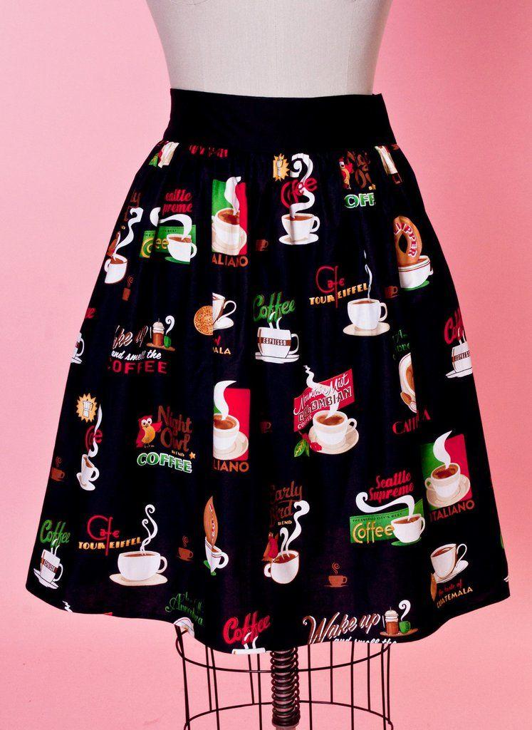 Gypsy Skirt - Coffee Anyone? - Heart of Haute  - 1
