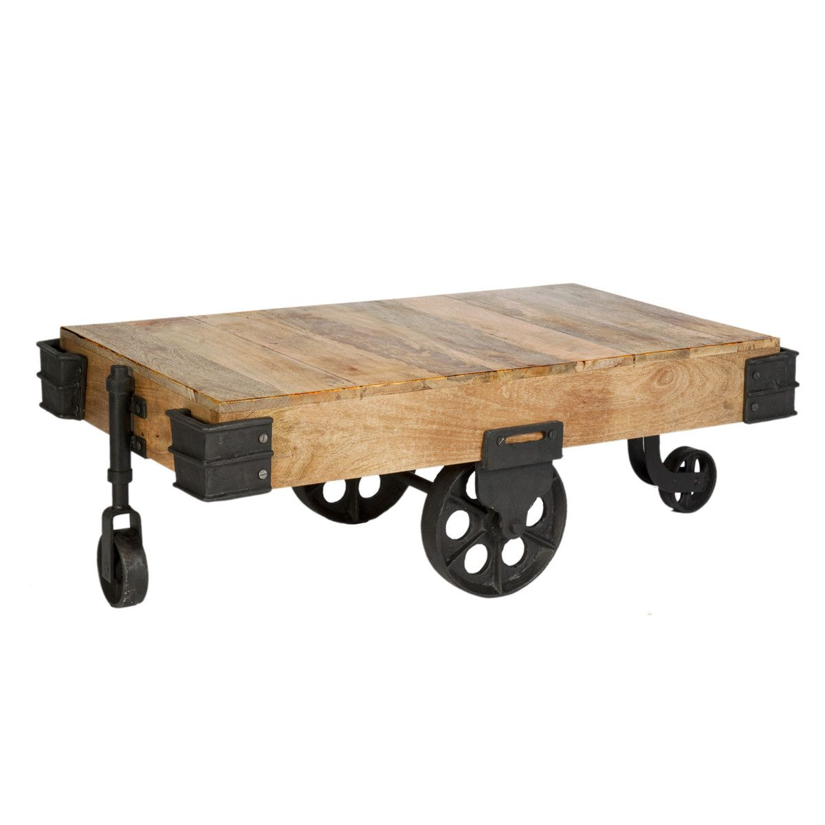 Industrial Coffee Table Ii For The Home Pinterest Industrial  # Gadsden Muebles