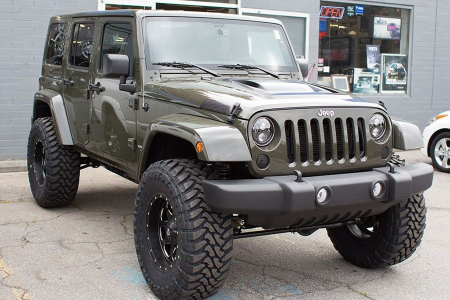2015 Jeep Wrangler Rubicon Unlimited Tank Jeep Wrangler