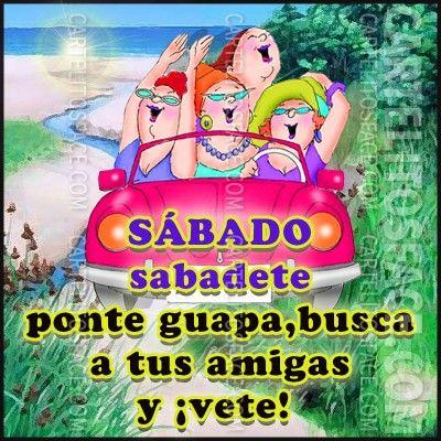 Sábado Sabadete Con Tus Tus Amigas Tarjetitas De Tareas