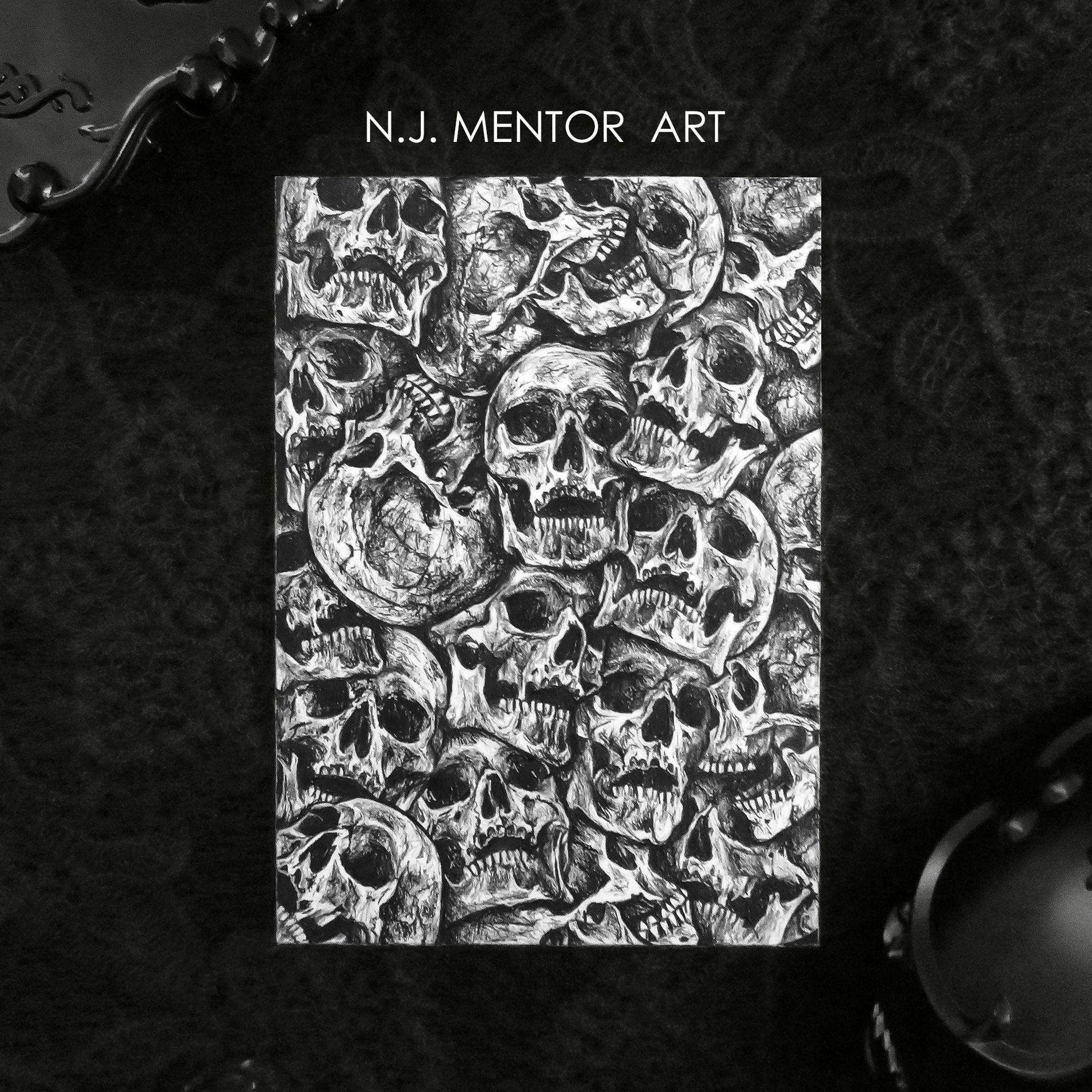Skull Collage Skulls Drawing Skull Art Airbrush Art