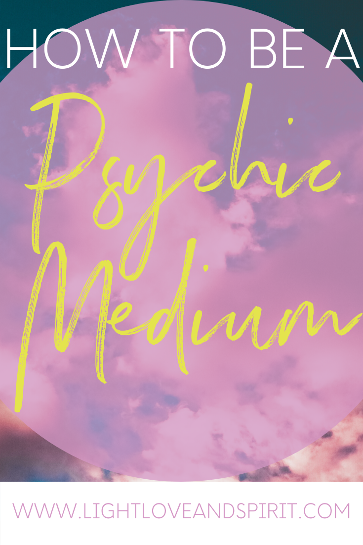 How To Become A Medium Psychic Mediums Psychic Development Psychic Medium Development