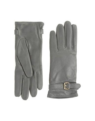 Just Cavalli gray leather gloves  $109