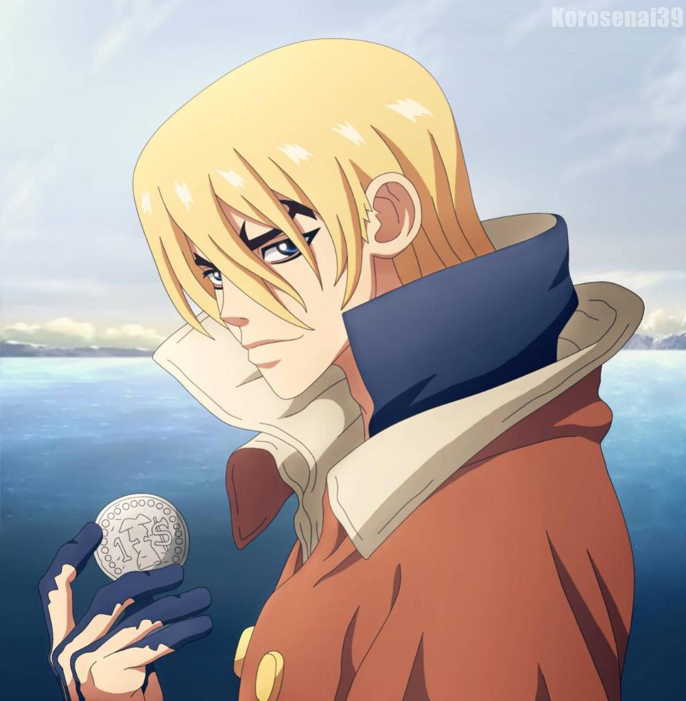 Ryusui Nanami - Dr. Stone | Stone, Anime, Art
