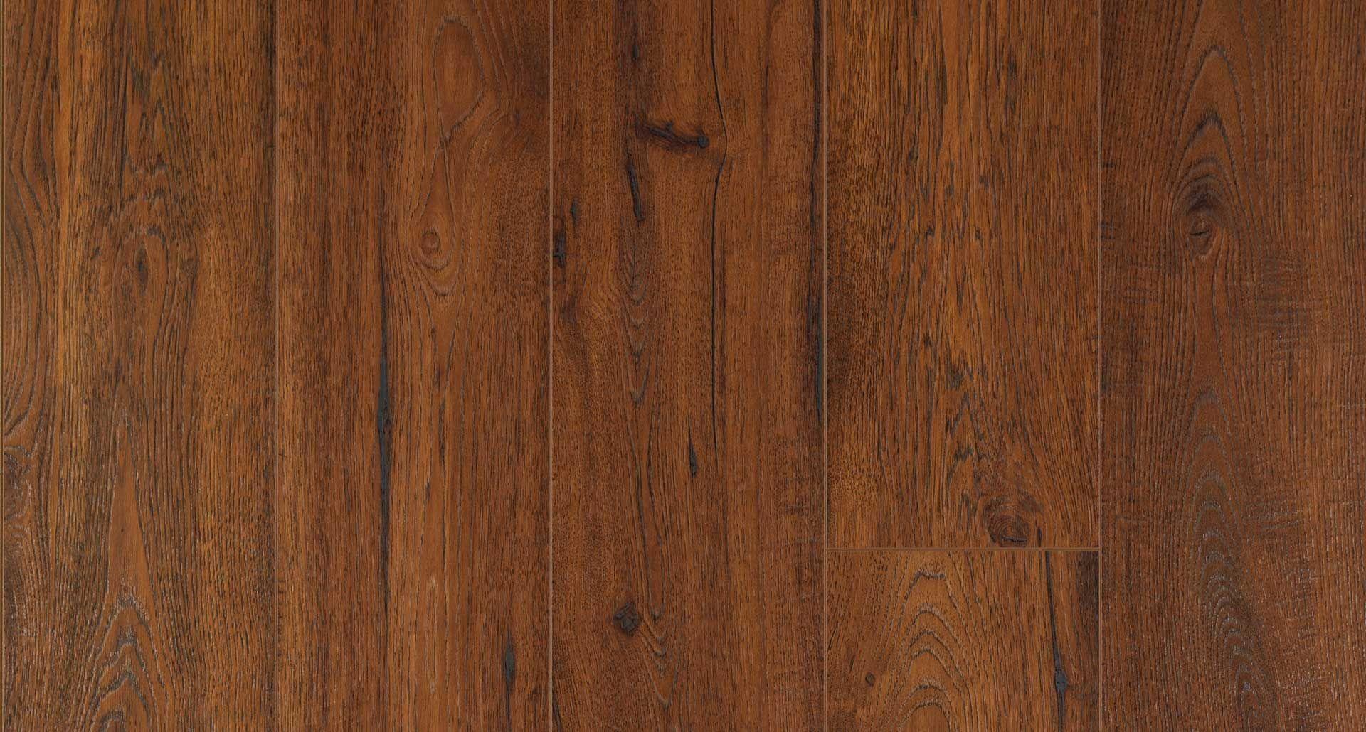 Cambridge Amber Oak Textured Laminate Floor Dark Oak Wood