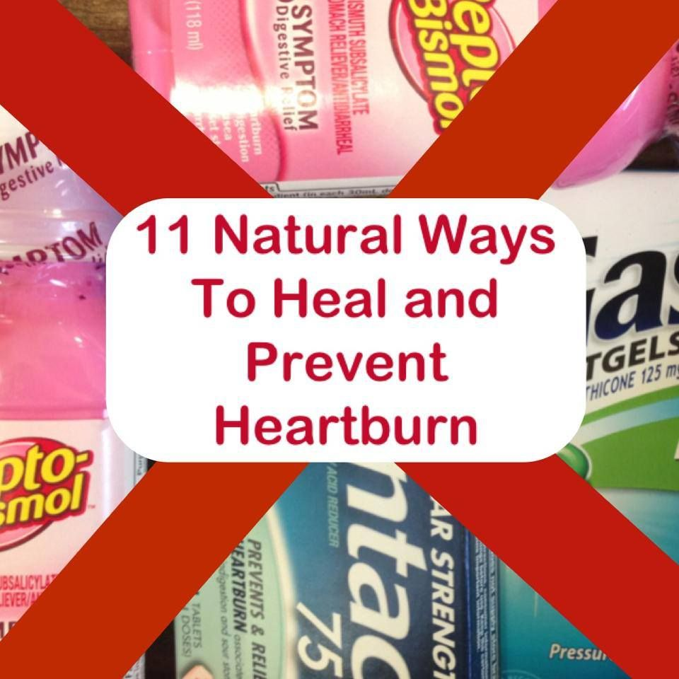 Natural Ways To Treat And Prevent Heartburn