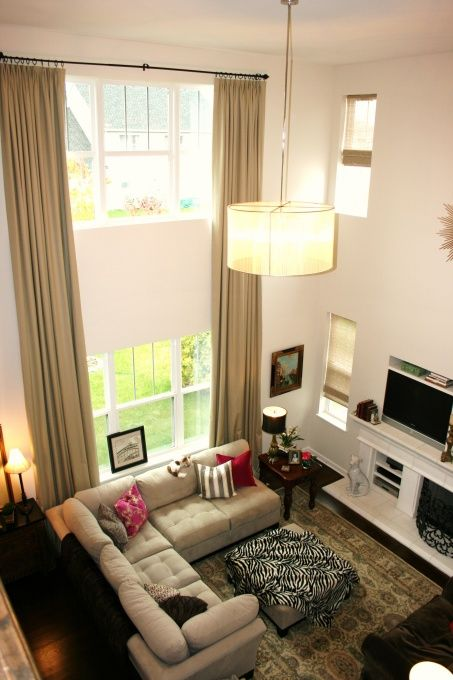 Re Post Rmlmagenta High Ceiling Living Room Living Room Windows Curtains Living Room #small #high #windows #in #living #room