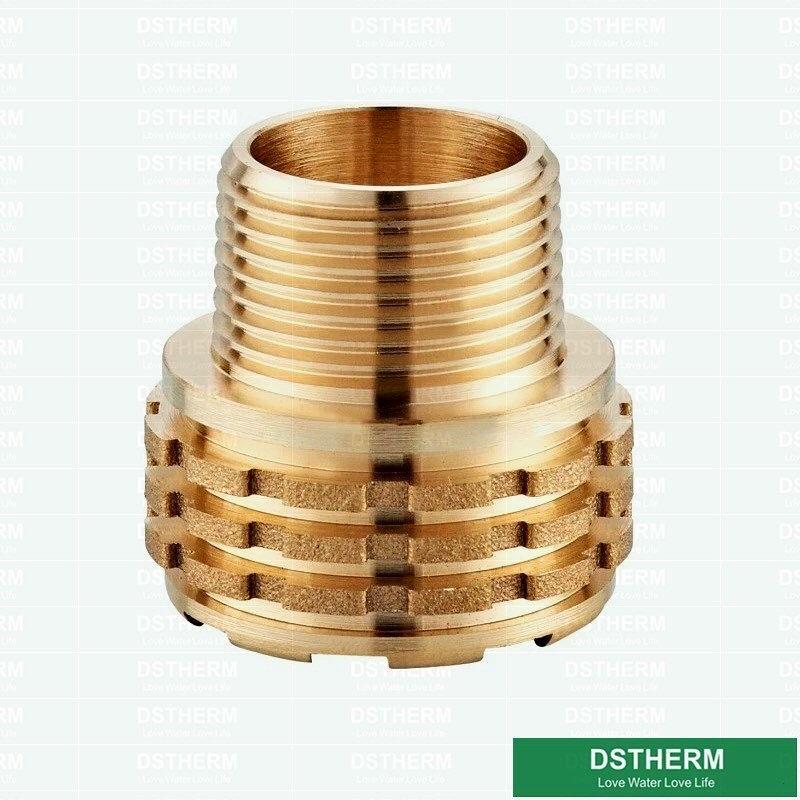 Dstherm Ppr Fittings Brass Insert In 2020 Brass Faucet Fittings Brass Fittings