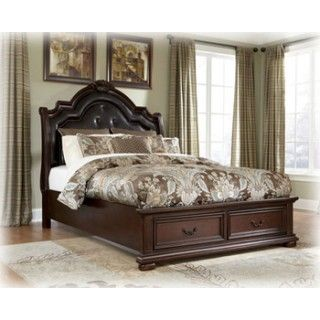 Ashley Furniture Signature Design Caprivi Queen Storage Footboard - Big sandy bedroom furniture