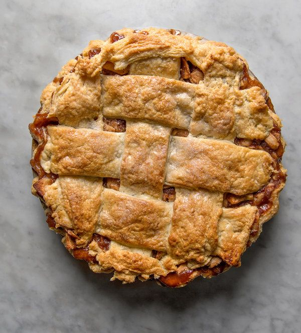 No matter where you bake it, this particular apple pie