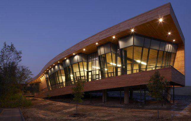 Trinity River Audubon Center Dallas United States By Brw Architects
