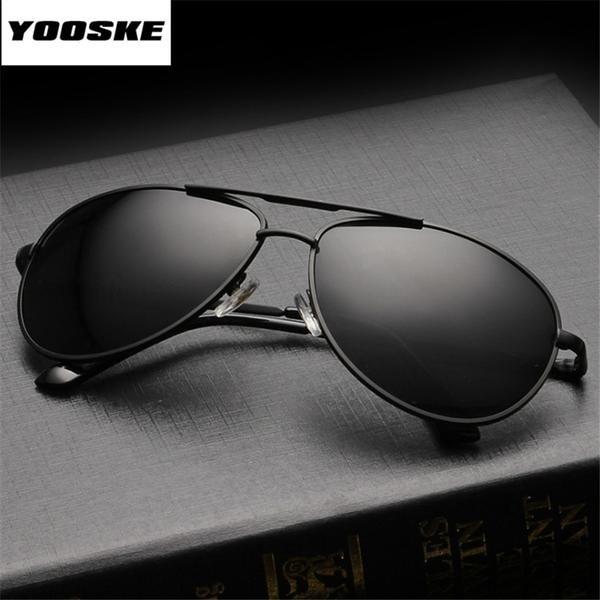 c442f821a94 YOOSKE Brand Polarized Sunglasses Men Women Driving Driver Sun Glasses  Vintage Rectangle Anti-UV Goggles Eyewear  Discounts  BestPrice