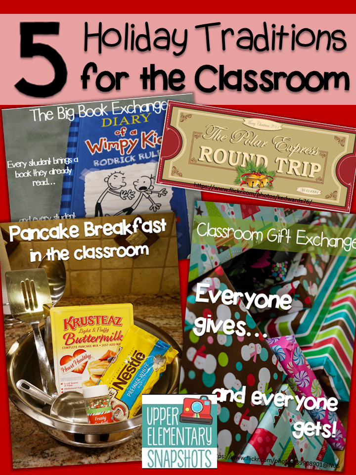 My 5 Favorite Holiday Classroom Traditions! | Student ...