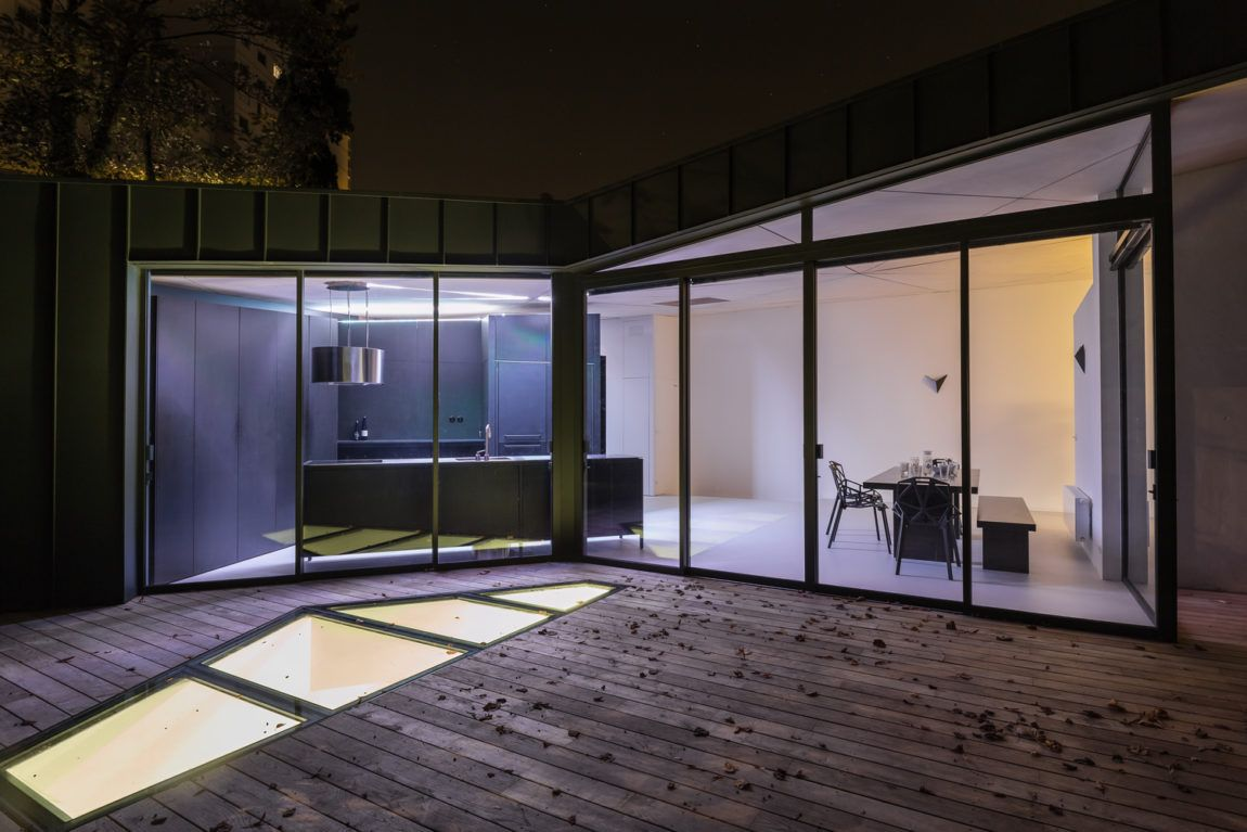 Renovation Of An Atypical House To Reorganize Its Spaces Architecture Study Rooms House Plans Storey Homes