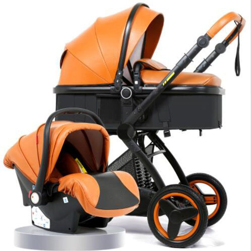 Luxury Baby Stroller 3 in 1 With Car Seat High Landscape