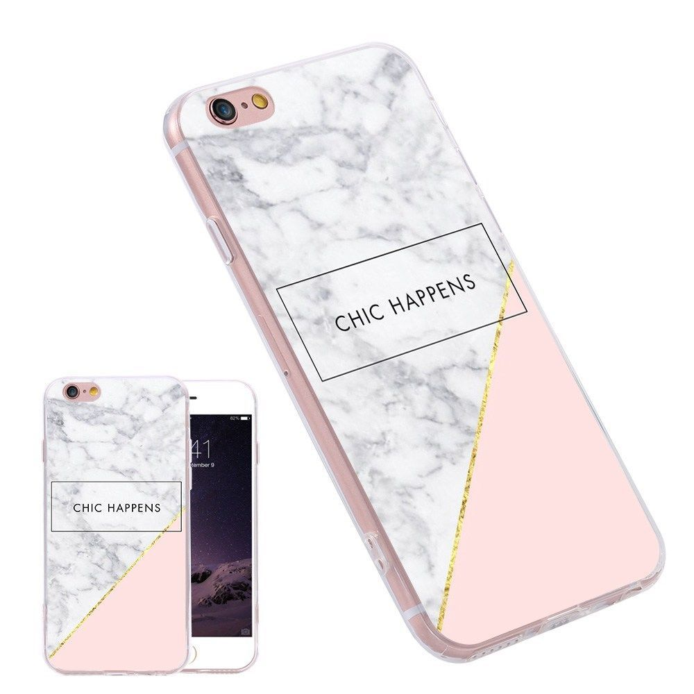 huawei cell phone cases. pink white geometry tpu pattern phone cases fundas for iphone samusung huawei | cell phones \u0026