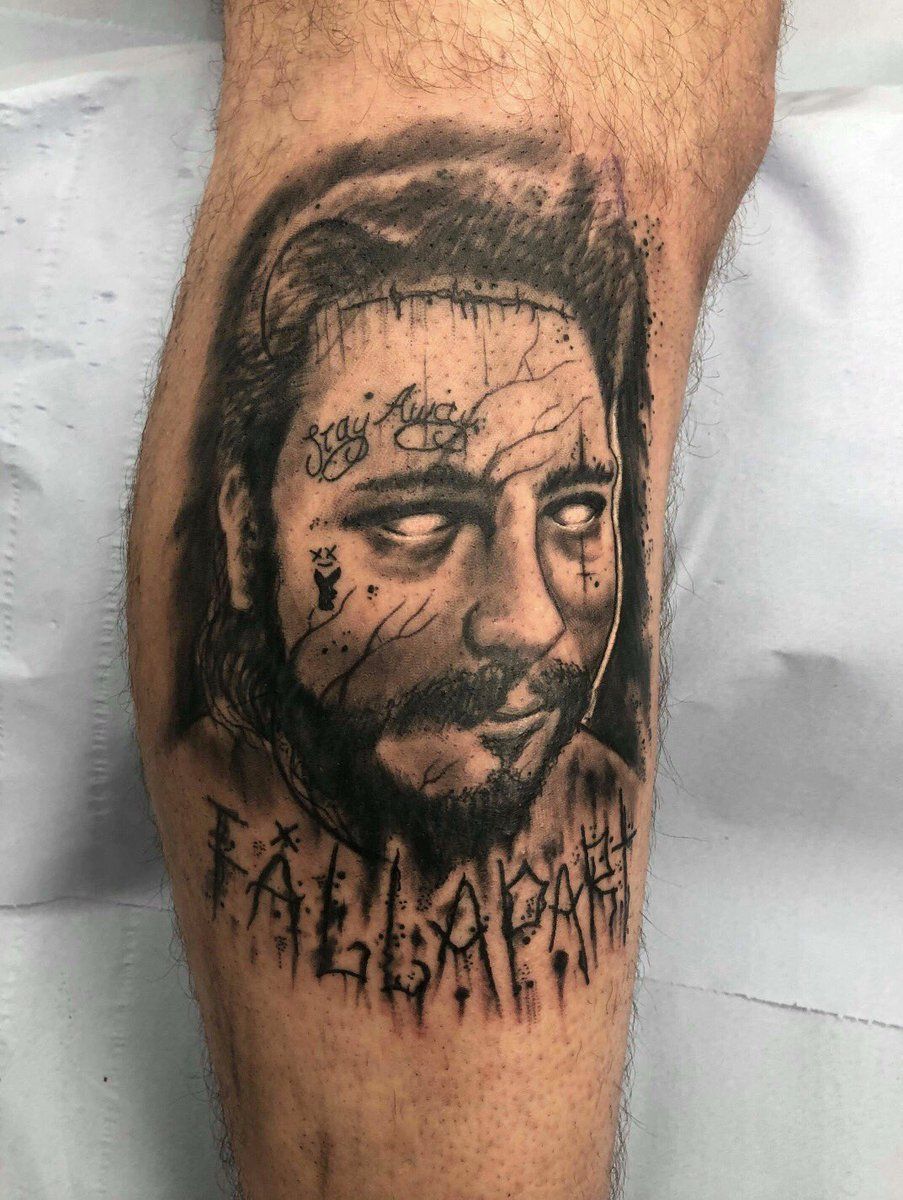 POST MALONE TATTOOS see more hiphop tattoos on the