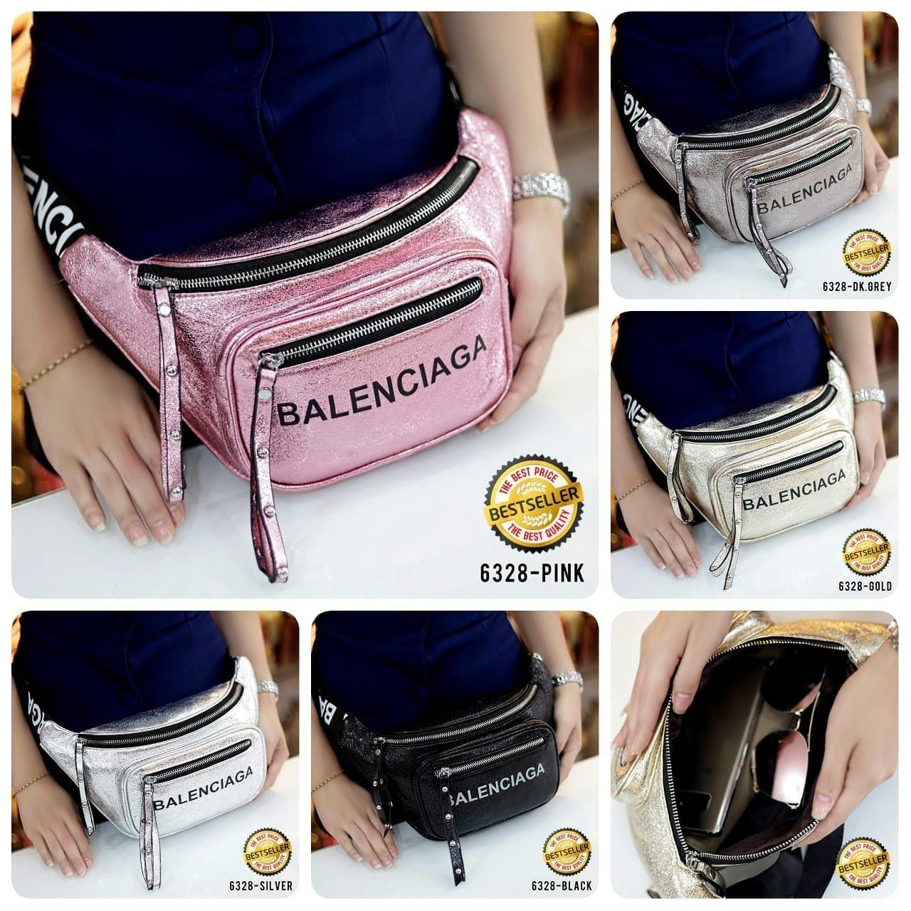 Balenciaga BumBag 6328  Bag multi fungsi - tas Pinggang - tas Punggung - tas  Dada 66f7baa325