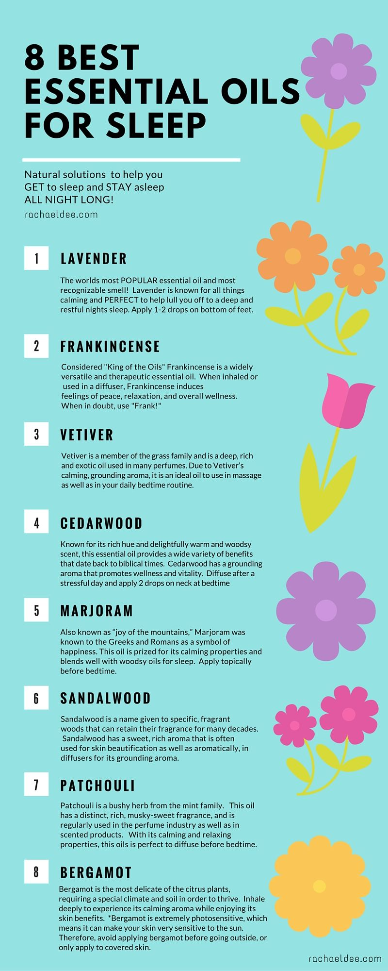 Best Essential Oils To Help Get You To Sleep And Stay Asleep All Night!  Natural
