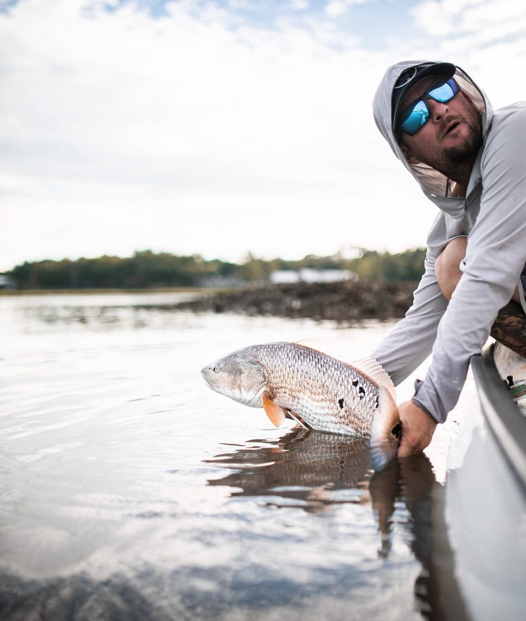 Seeing Spots Gabe Lefebvre Seewhatsoutthere Fly Fishing Costa Sunglasses Sports Sunglasses