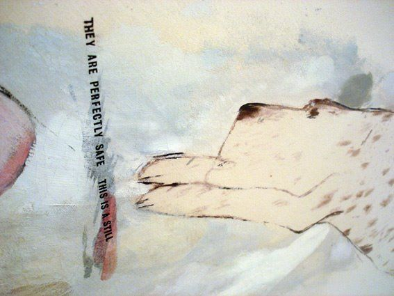 Picture Emphasizing Stillness by David Hockney