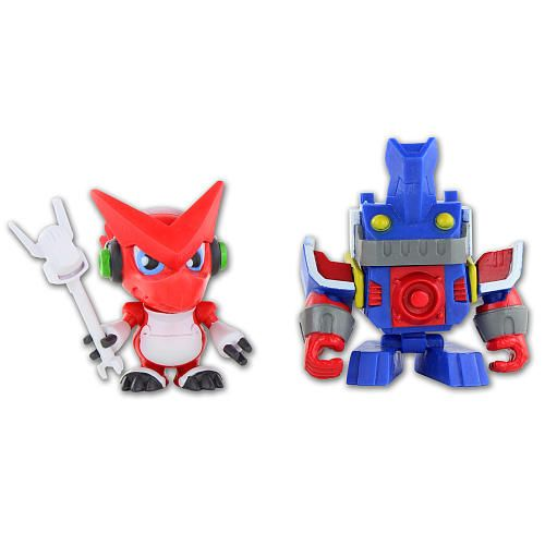 "Digimon DigiBattle Pack Figures 2-Pack - Shoutmon and Ballistamon -  Bandai - Toys""R""Us"