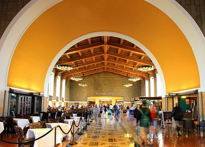 Union Station In Los Angeles Grand Central Station In New York Or Any Other Beautiful Station Can Be The Bac Grand Central Station Los Angeles Event Location