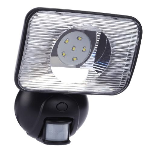 Bright Outdoor Solar Lights 6 Leds 12W Solar Powered Super Bright Outdoor Security Light