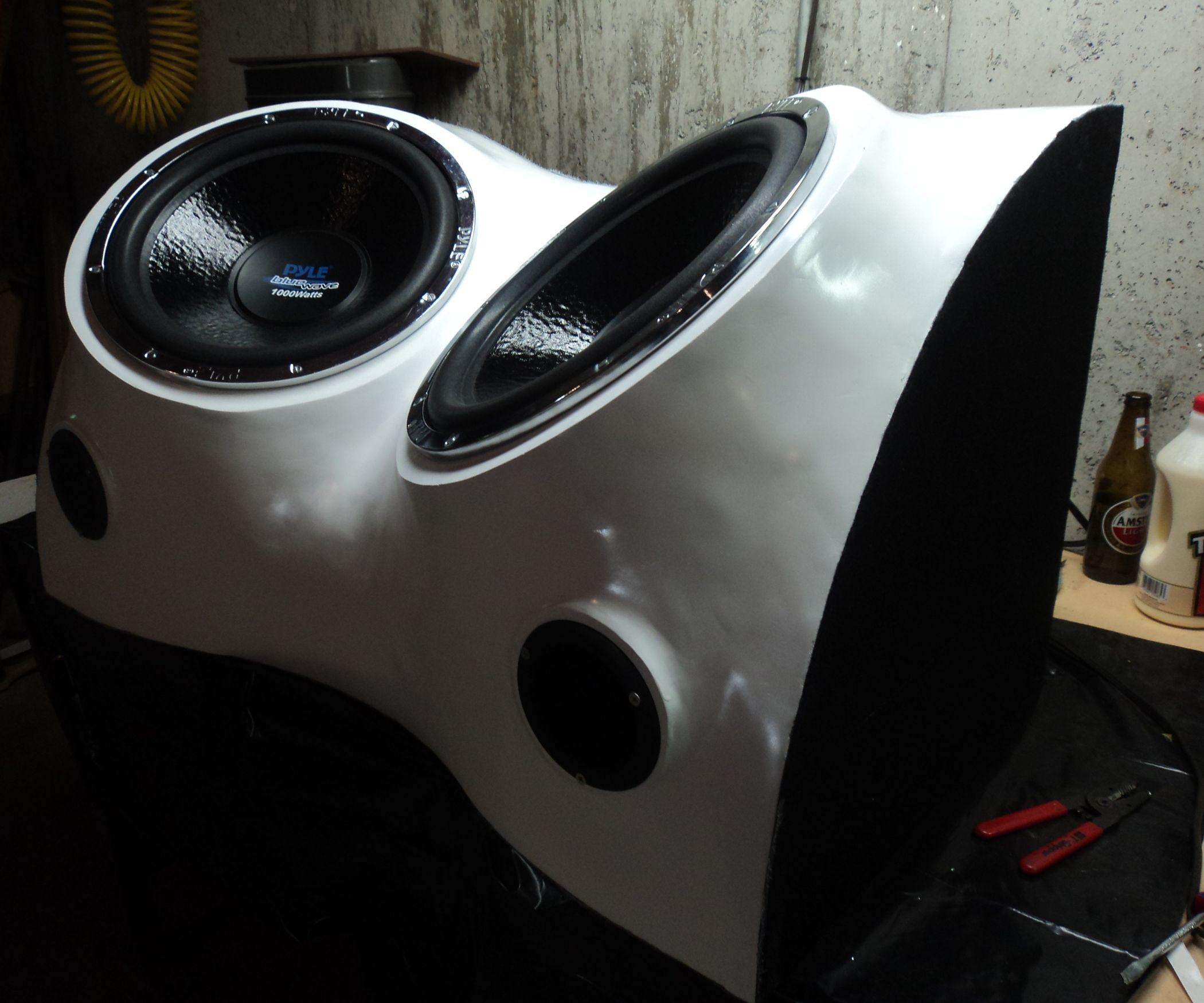 Build a Fiberglass Subwoofer, Start to Finish | Fiberglass