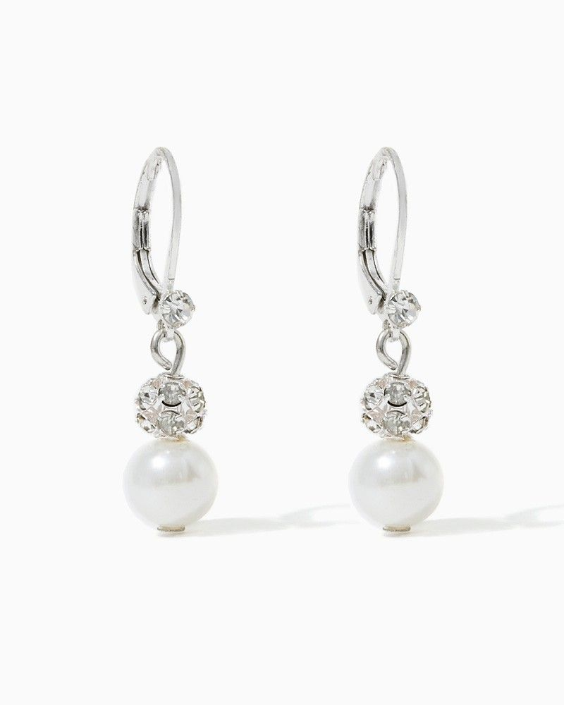 charming charlie Pearly Perfection Earrings UPC 400000106366
