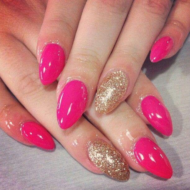 Nail Designs Pointy Nails Swag Nails Almond Acrylic Nails
