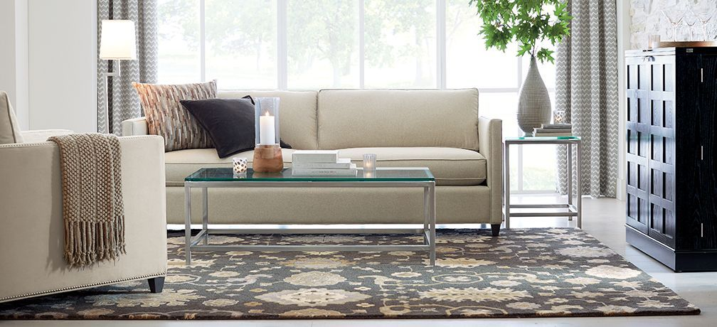 Elegant Living Room Dryden Crate And Barrel