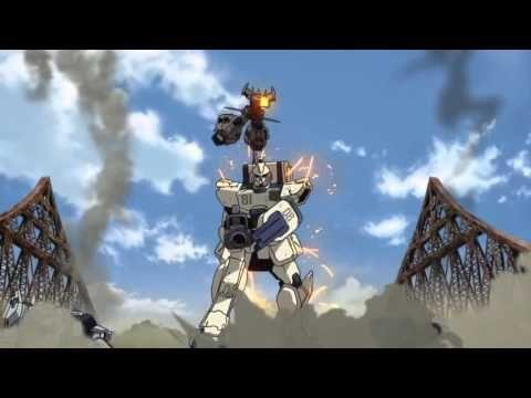 Mobil Suit Gundam the 08th MS Team Bridge Battle (eng subs ...