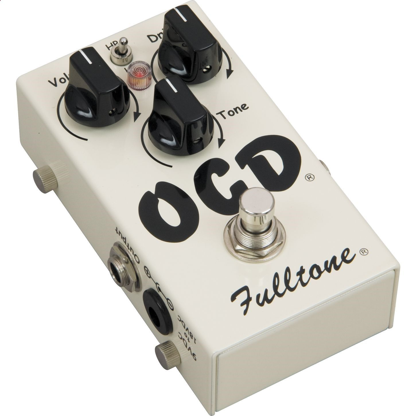 Guitar Pedals - This is my distortion pedal. Its clarity is great regardles of volume, and isnt muddy when the amp is at 11. Fulltone OCD Obsessive Compulsive Drive Overdrive Guitar Effects Pedal