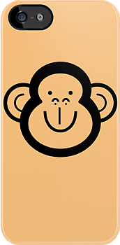 """""""Monkey"""" iPhone & iPod Cases by BlancaMF 