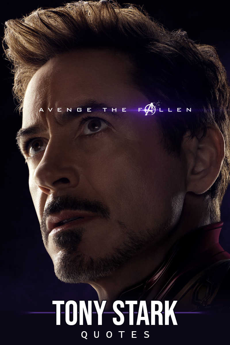 100 Best Tony Stark Iron Man Quotes Scattered Quotes Iron Man Avengers Marvel Entertainment New Avengers