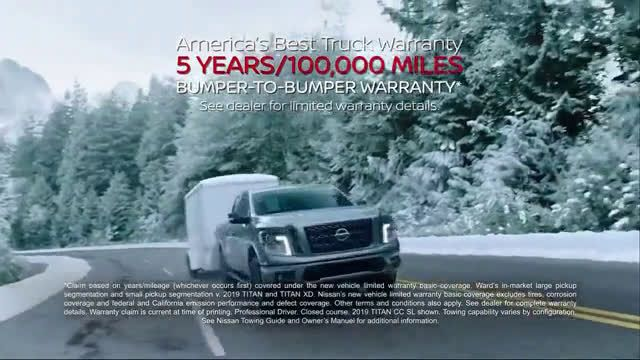 ▷ Nissan Year-End Event - Titan of the Holidays Ad