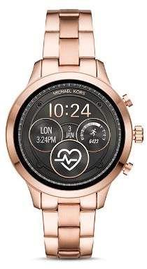 b527cbdf8380 Michael Kors Runway Touchscreen Smartwatch