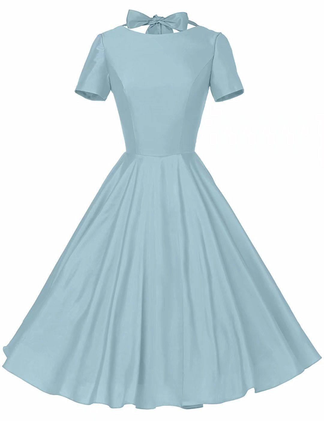 Amazon.com: GownTown Womens 1950s Vintage Retro Party Swing Dress ...