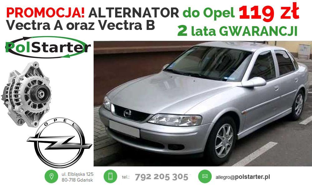 Alternator Opel Astra F 1 4 Vectra A 1 8i Vectra B 6775267701 Oficjalne Archiwum Allegro Alternator Opel Suv