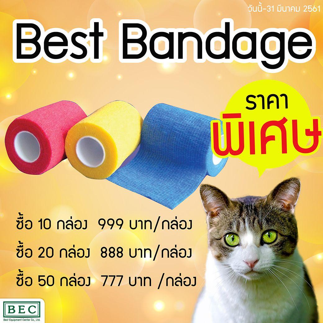 Best Bandage ราคาพ เศษ ซ อ 10 กล อง 999 บาท กล อง ซ อ 20 กล อง 888 บาท กล อง ซ อ 50 กล อง 777 บาท กล อง อ ปกรณ และเคร องม โรงพยาบาล ส ตว กล อง