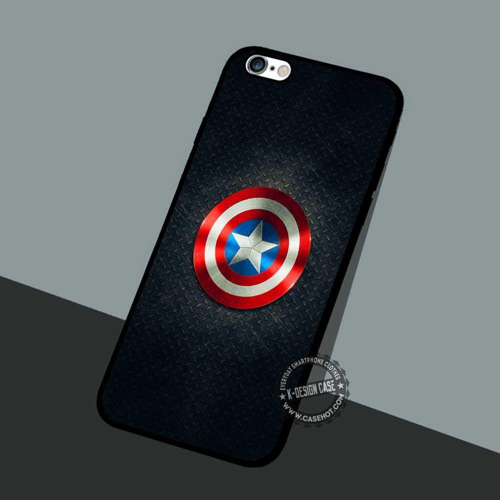 Captain Shield Symbol - iPhone 7 6 Plus Cases & Covers #movie #superheroes