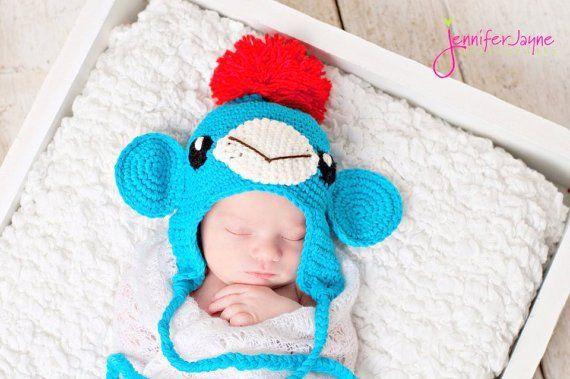 Sock Monkey Crochet Hat Free Pattern Crochet Love Pinterest