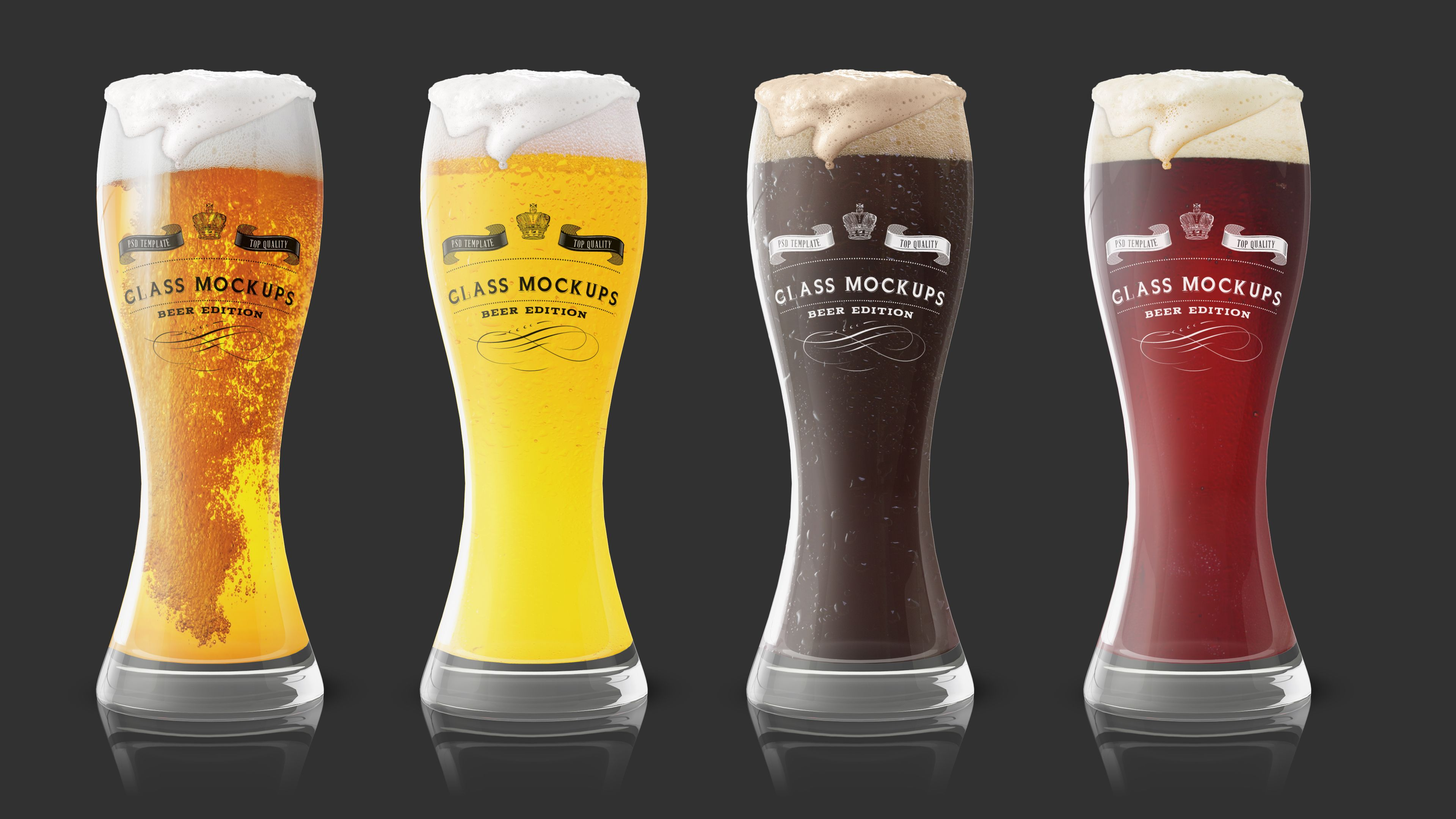 Glass Mockup Beer Glass Mockup 1 Mockup Glass Beer